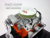 Chevy 350 Small Block V-8 Engine 1/6 Scale Diecast Metal and Plastic Model by Liberty Classics