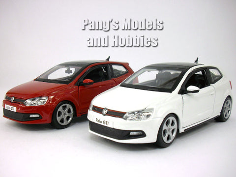 Volkswagen VW Polo GTI Mark 5 (Mk5) 1/24 Scale Diecast Model by Bburago