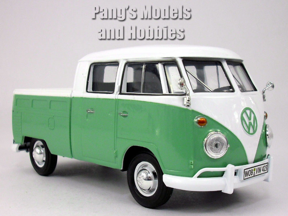 volkswagen vw t1 type 2 pick up bus van 1 24 diecast. Black Bedroom Furniture Sets. Home Design Ideas