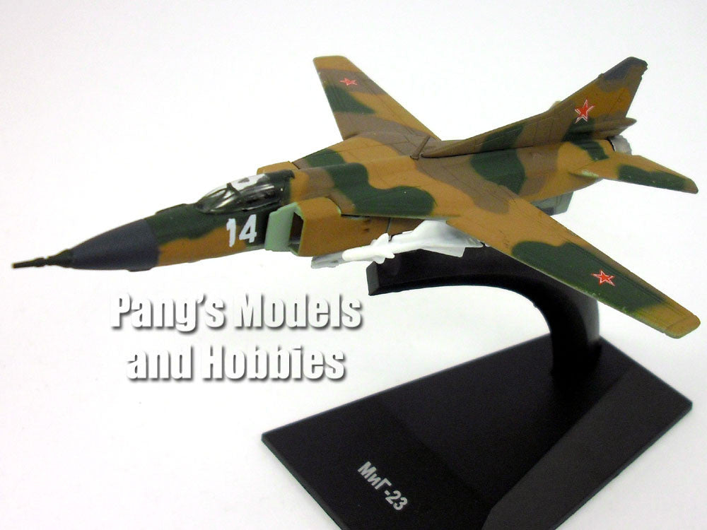 Mikoyan-Gurevich MiG-23 Flogger Russian AF 1/150 Scale Diecast Model by DeAgostini