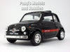 Classic Fiat 500 1/24 Scale Diecast Metal Model by Kinsmart