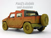Hummer H2 SUT Muddy/Dirty 1/40 Scale Diecast Metal Model by Kinsmart