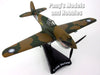 "Curtiss P-40 Warhawk ""Flying Tigers"" 1/90 Scale Diecast Metal Model by Daron"