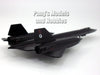 Lockheed SR-71 Blackbird Spy Plane 1/200 Scale Diecast Metal Model by Air Force 1