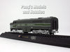 Alco PA Train Diesel Locomotive - New York Central 1946 1/160 N Scale Diecast Metal Model by Amercom