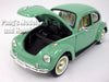 Volkswagen (VW) Beetle with White Wall Tires 1/24 Diecast Metal Model by Welly