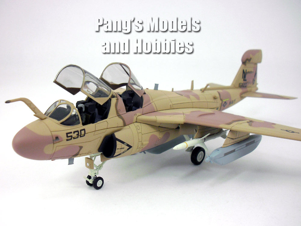 Northrop Grumman EA-6B (A-6) Prowler - Intruder - Wizards 1/72 Scale Diecast Metal Airplane by Hobby Master