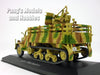 Sd.Kfz.3 Blitz Maultier Anti-aircraft Half Track Truck 1/43 Scale Diecast Metal Model by Atlas