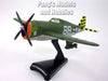 Republic P-47 Thunderbolt - Big Stud - 1/100 Scale Diecast Metal Model by Daron