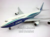 Boeing 747-8 Blue Livery Inflight Version 1/200 Scale Model by Hogan