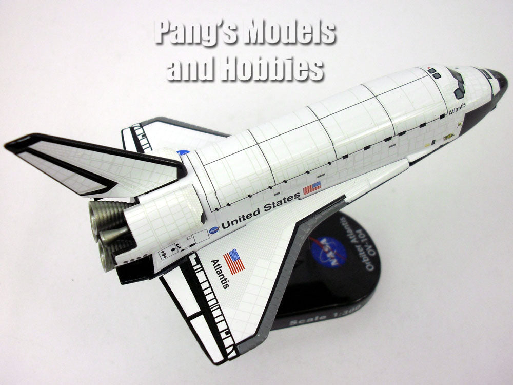 Space Shuttle Atlantis 1/300 Scale Diecast Metal Model by Daron