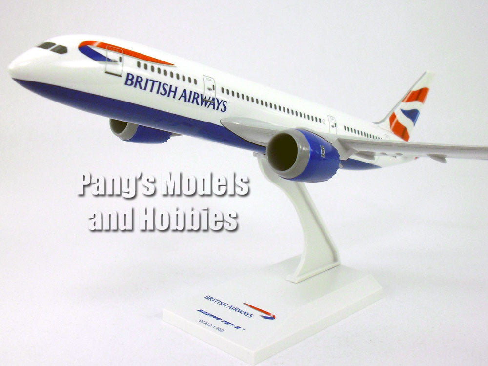 Boeing 787-8 (787) Dreamliner - British Airlines 1/200 Scale by Sky Marks