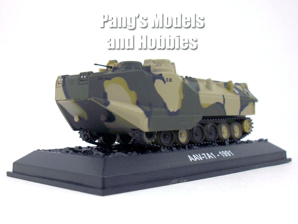 AAV-7 Assault Amphibious Vehicle - Marines 1/72 Scale Die-cast Model by Amercom