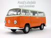 Volkswagen -VW T2 (Type 2) 1972 Bus 1/38 Scale Diecast & Plastic Model by Welly