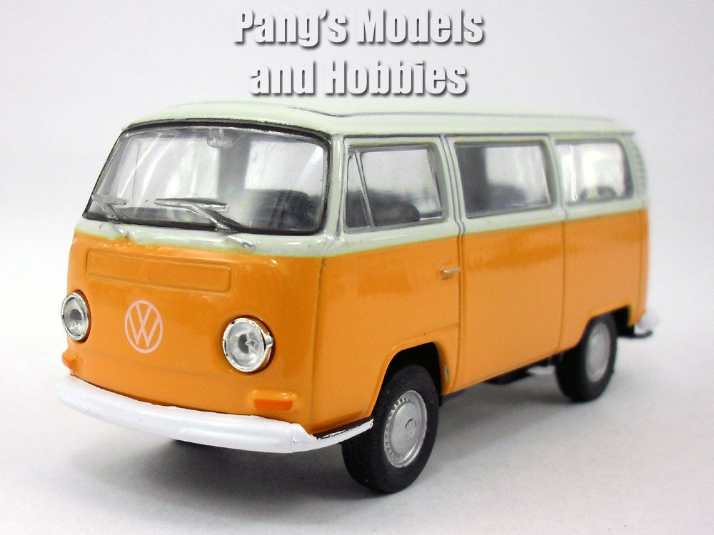 volkswagen vw t2 type 2 1972 bus 1 38 scale diecast. Black Bedroom Furniture Sets. Home Design Ideas