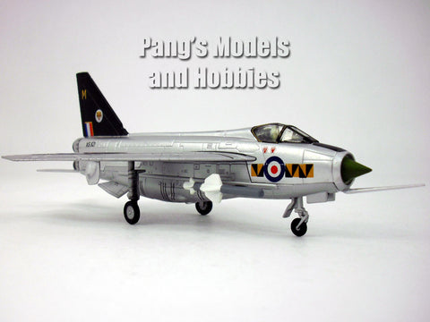 English Electric - BAC Lightning British Interceptor 1/100 Scale Diecast Metal Model by Amercom