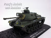 M48 Patton Main Battle Tank - USMC - 1/72 Scale Diecast Metal Model by Altaya