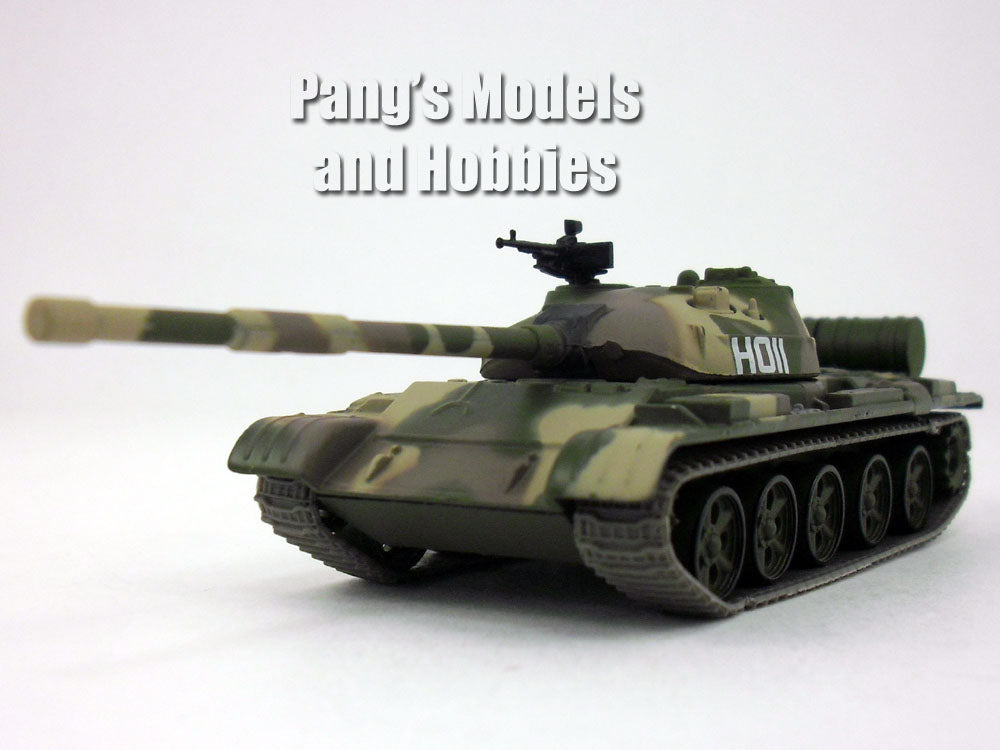 T-62 Russian Main Battle Tank  - Camo - 1/72 Scale Die-cast Model by Eaglemoss