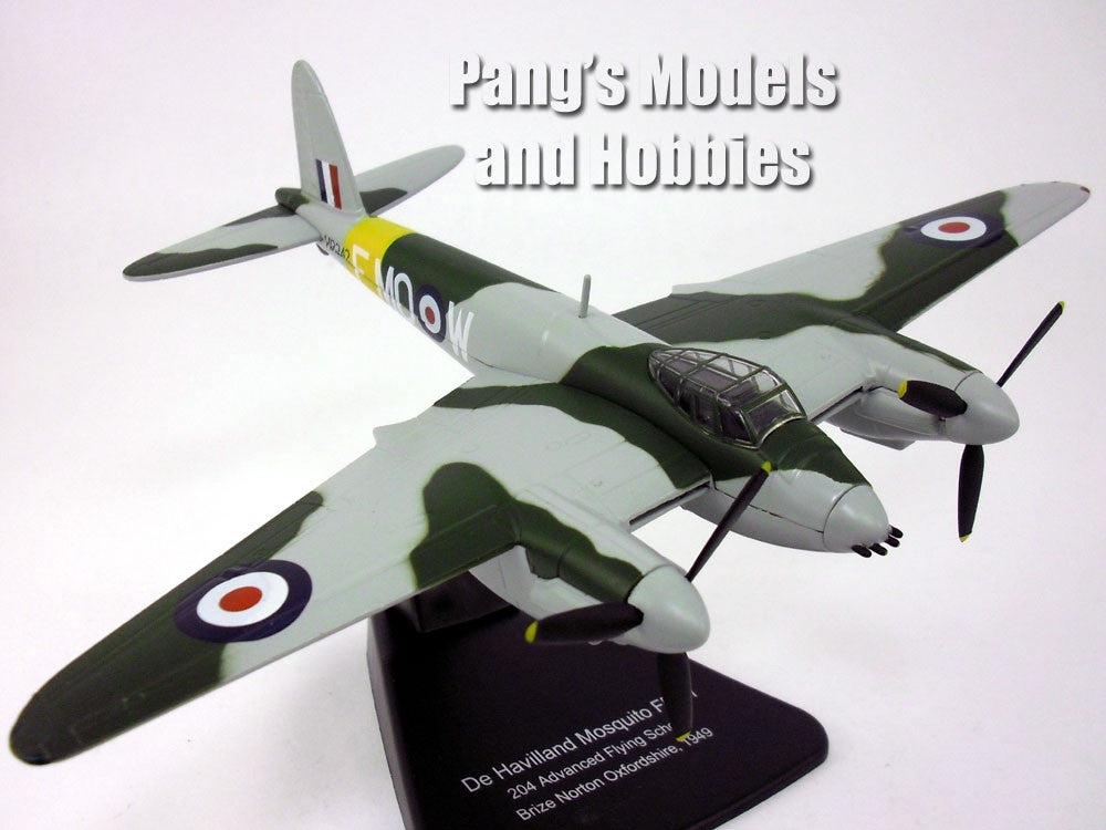 de Havilland Mosquito Fighter-Bomber - Royal Air Force - 1/72 Scale Diecast Metal Model by Oxford