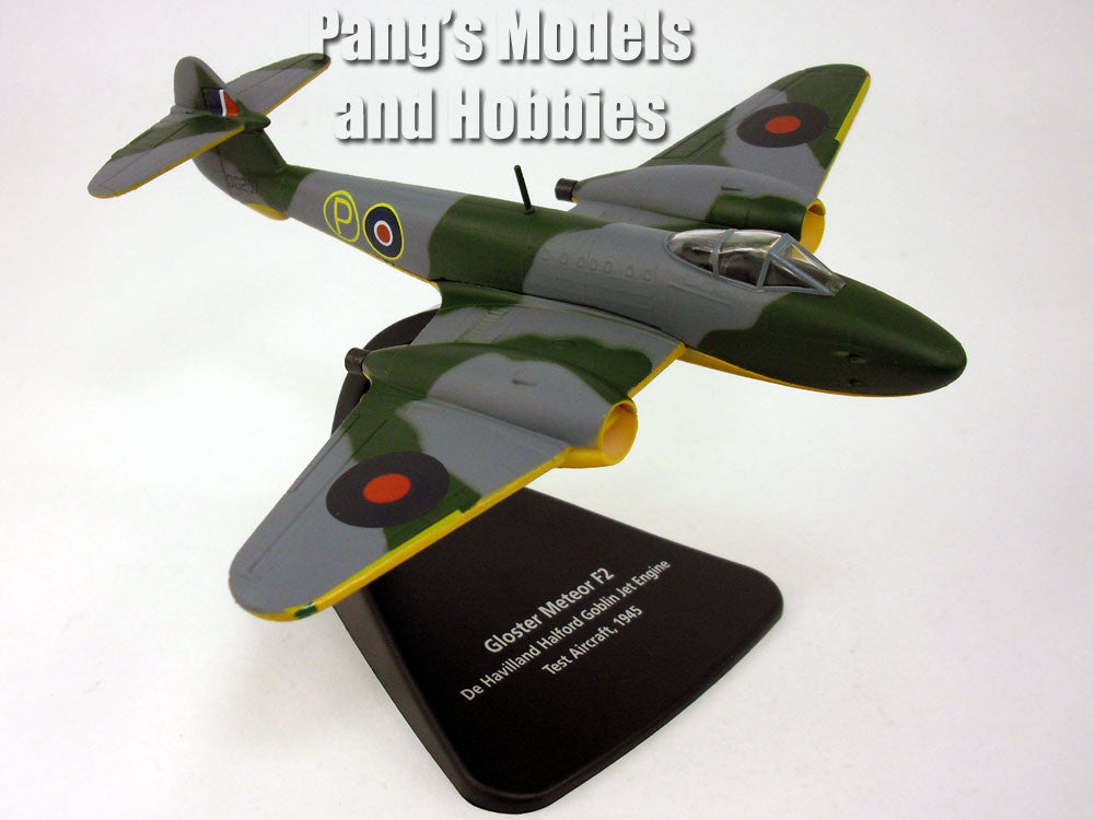 Gloster Meteor - Royal Air Force - 1/72 Scale Diecast Metal Model by Oxford