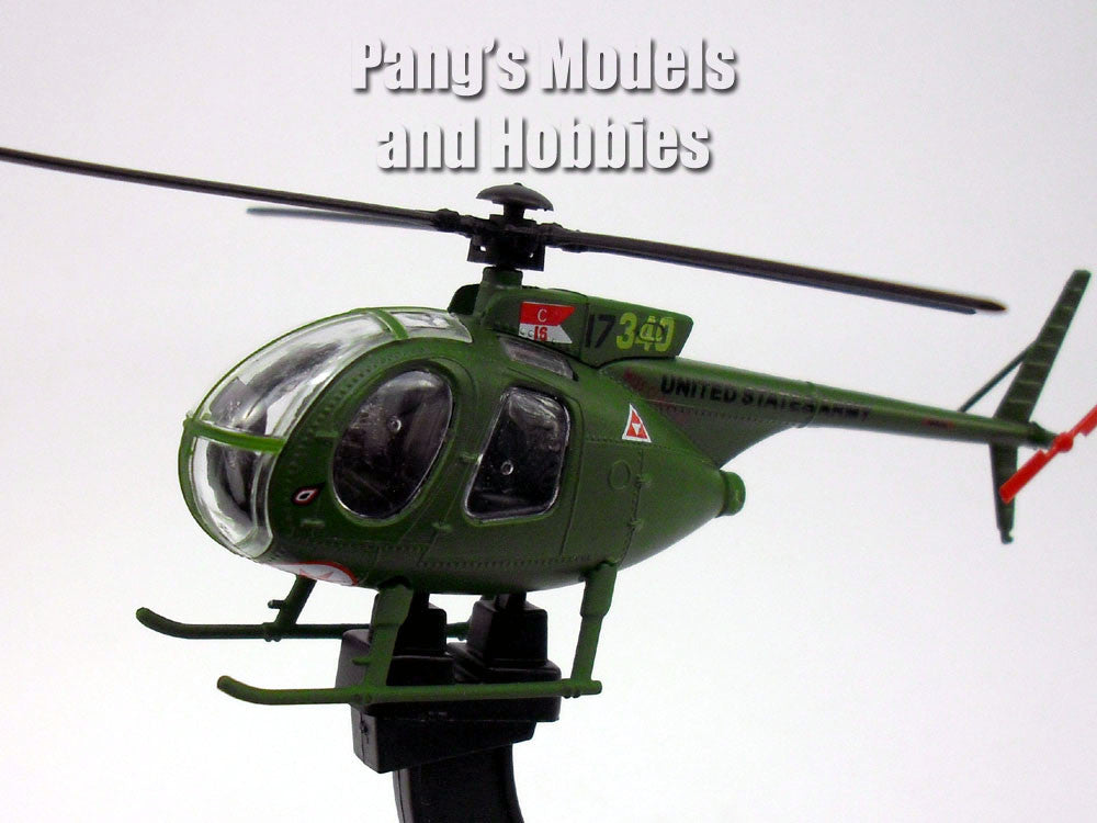 Hughes OH-6 Cayuse (LOH) 1/72 Scale Diecast Helicopter Model by Amercom