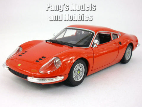 Ferrari Dino 246 GT - 1968 1/24 Scale Diecast Model by Bburago