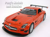 Mercedes-Benz SLS AMG GT3 1/24 Scale Diecast Metal Model by Motormax