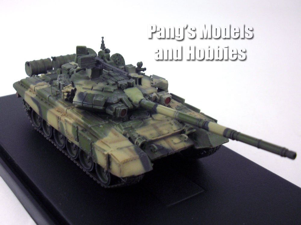 T-90 Russian Main Battle Tank - 19th Motorized Brigade - 1/72 Scale Model by Modelcollect