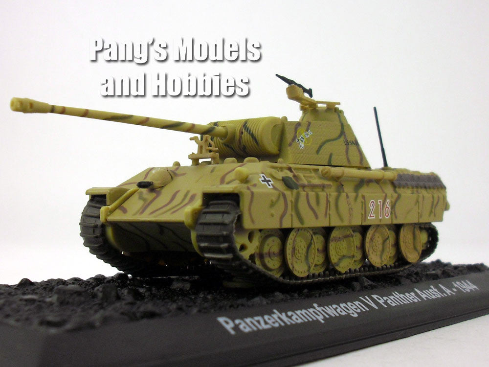 Panther Tank - Panzerkampfwagen V Panther 1/72 Scale Die-cast Model by Amercom