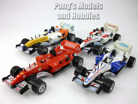 5.5 Inch Formula Race Car Scale Diecast Metal Model by Kingstoy