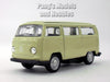 3 Inch VW (Volkswagen) 1972 T2 - Type 2 Bus 1/60 Scale Diecast Model by Welly