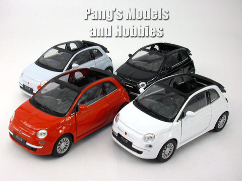 2010 Fiat 500C 1/32 Scale Diecast Metal Model by Welly