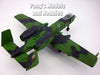 Fairchild Republic A-10 Thunderbolt II ( Warthog ) - 1/72 Scale Diecast Model by Motor Max