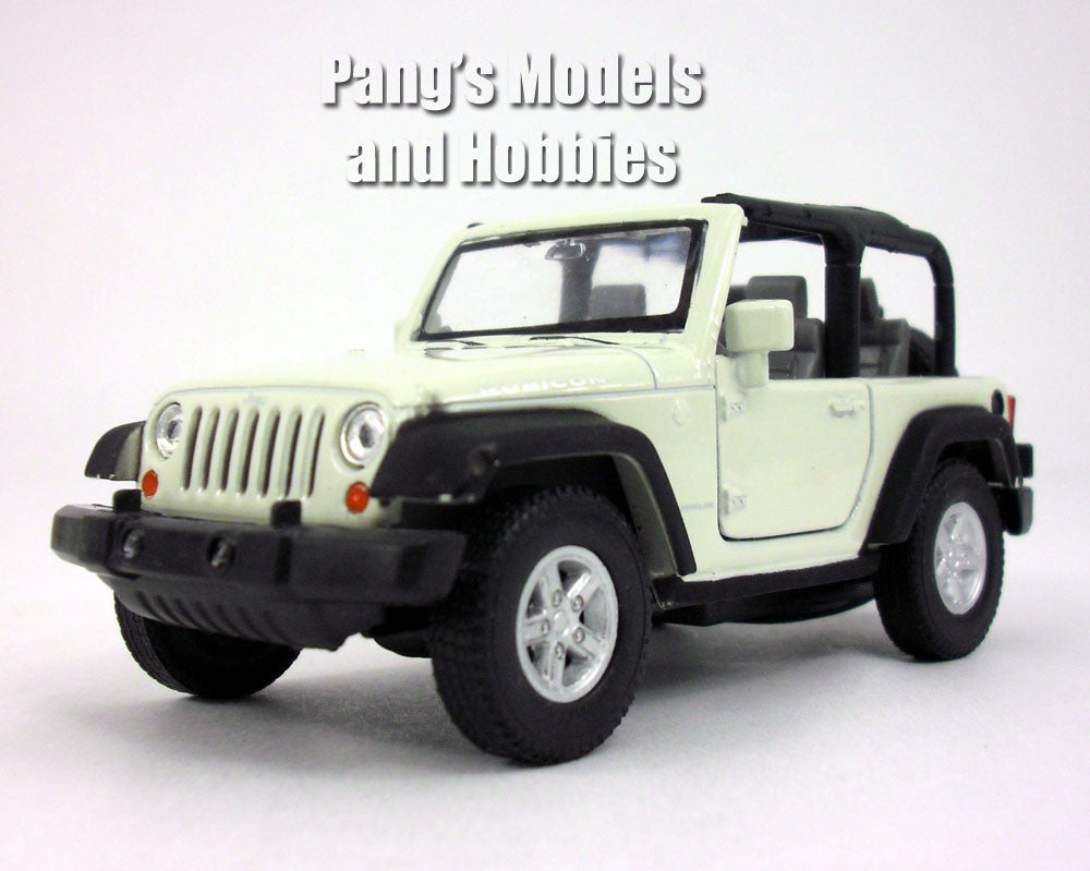 4.25 Inch Jeep Wrangler Rubicon 1/32 Scale Diecast Metal Model by Welly
