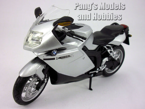 BMW K1200S 1/12 Scale Diecast Metal and Plastic Model by Automaxx