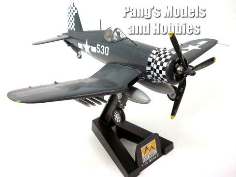 F4U Corsair VMF-312 Okinawa 1945 1/72 Scale Assembled and Painted Model by Easy Model