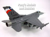 "Lockheed Martin F-16 (F-16C) Falcon ""Lone Start Gunfihters"" 182nd FS, 149th FW 1/72 Scale Diecast Model by Air Force 1"