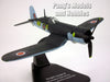 F4U Corsair III - Fleet Air Arm- Royal British Navy - 1/72 Scale Diecast Metal Model by Oxford