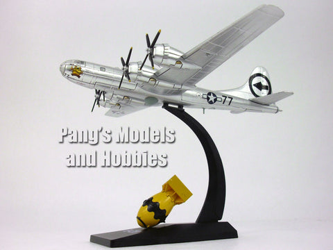Boeing B-29 Superfortress Bockscar and Fat Man (Nagasaki) 1/144 Scale Diecast Model by Air Force 1