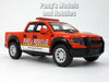 Ford F-150 SVT  Red Raptor Fire and Rescue 1/46 Scale Diecast Model by Kinsmart