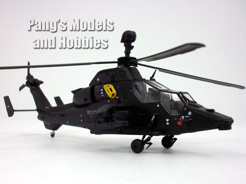 Eurocopter Tiger UHT Attack Support Helicopter 1/72 Scale Assembled and Painted Plastic Model by Easy Model