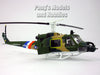 Bell UH-1 Iroquois (Huey) Gunship 1/72 Scale Assembled and Painted Plastic Model by Easy Model