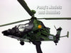 Eurocopter Tiger UHT Attack Support Helicopter - Germany - 1/72 Scale Diecast Helicopter Model by Amercom