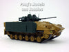 MCV-80 Warrior Tracked Armored Vehicle 1/72 Scale Die-cast Model by Eaglemoss