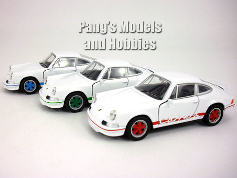 4.5 inch 1973 Porsche 911 Carrera RS 1/32 Scale Diecast Model by Welly