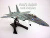 McDonnell Douglass F-15 (F-15C) Israel IDF 1/72 Scale Assembled and Painted Plastic Model by Easy Model