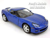 5 inch 2007 Chevrolet Corvette Z06 1/36 Scale Diecast Model by Kinsmart