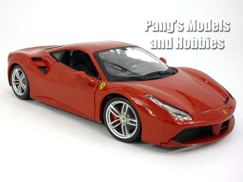 Ferrari 488 GTB - 2015 - 1/24 Scale Diecast Model by Bburago