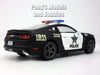 Ford Mustang GT 2015 - Police - 1/36 (5 inch long) Scale Diecast Metal Model by Kinsmart