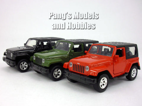 4.5 inch Jeep Wrangler 1/32 Scale Diecast Metal Model by Jada